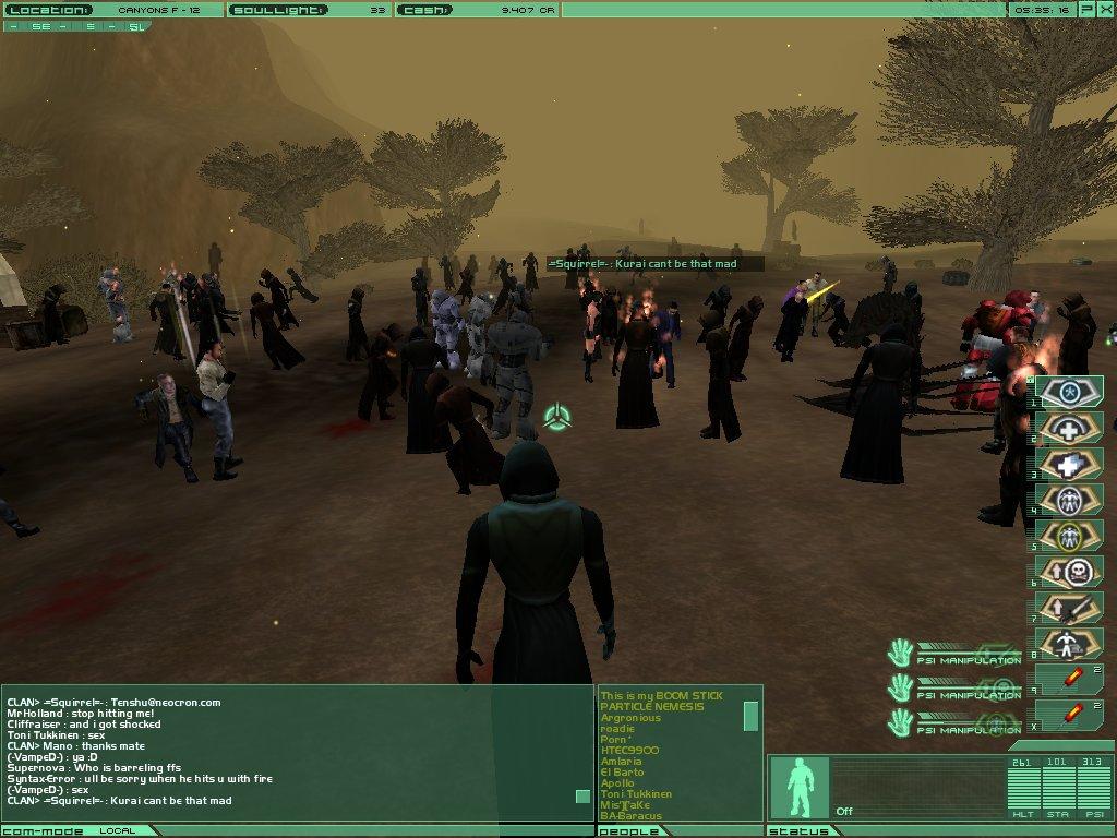 neocron forum